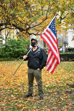 Editorial picture of Veterans Day portraits, New York, USA - 11 Nov 2020