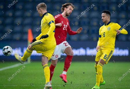 Editorial photo of Denmark vs Sweden, Copenhagen - 11 Nov 2020
