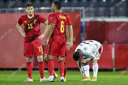 Editorial picture of Belgium vs Switzerland, Leuven - 11 Nov 2020