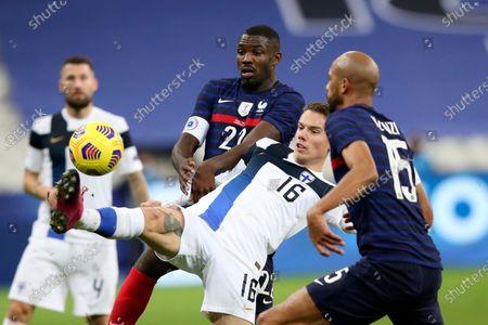 Editorial photo of Finland Soccer, Saint-Denis, France - 11 Nov 2020