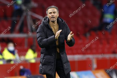 Spain coach Luis Enrique  during the friendly match between the Netherlands and Spain at the Johan Cruyff Arena in Amsterdam, The Netherlands, 11 November 2020.