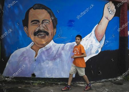 Editorial image of Ortega turns 75 without showing signs of wanting to leave power in Nicaragua, Managua - 11 Nov 2020