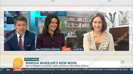 Editorial photo of 'Good Morning Britain' TV Show, London, UK - 12 Nov 2020