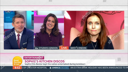 Editorial picture of 'Good Morning Britain' TV Show, London, UK - 12 Nov 2020
