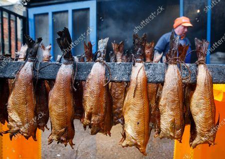 Editorial image of Scottish haddock in Arbroath Smokies, United Kingdom - 11 Nov 2020