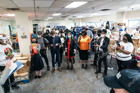 Editorial picture of HelloFresh Veterans Day Packing Event, New York, United States - 11 Nov 2020