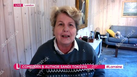Editorial photo of 'Lorraine' TV Show, London, UK - 12 Nov 2020