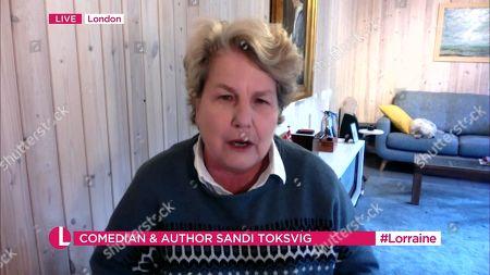 Editorial image of 'Lorraine' TV Show, London, UK - 12 Nov 2020