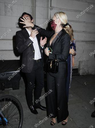 Mark Francis and Tamara Beckwith
