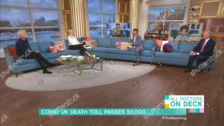 Editorial picture of 'This Morning' TV Show, London, UK - 12 Nov 2020
