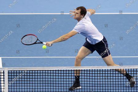 Editorial image of Sofia Open tennis tournament, Bulgaria - 12 Nov 2020