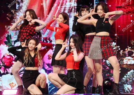 Editorial photo of Girl group STAYC debuts in Seoul, Korea - 12 Nov 2020