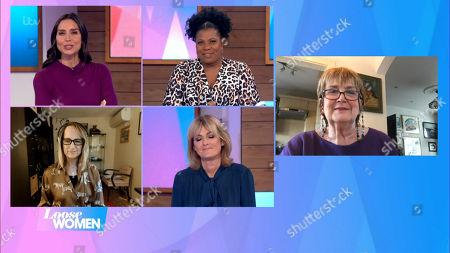Christine Lampard, Brenda Edwards, Carol McGiffin, Jane Moore, Dame Jenni Murray