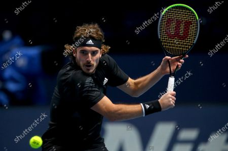 Editorial photo of Nitto ATP Finals 2020, Day Five, Tennis, The 02 Arena, London, UK - 19 Nov 2020