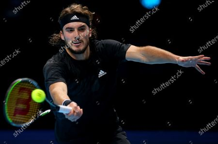Editorial picture of Nitto ATP Finals 2020, Day Five, Tennis, The 02 Arena, London, UK - 19 Nov 2020