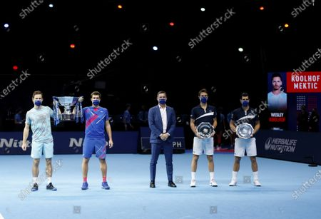 Editorial image of Nitto ATP Finals 2020, Day Eight, Tennis, The 02 Arena, London, UK - 22 Nov 2020