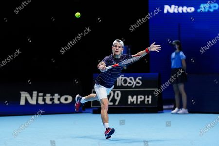 Editorial image of Nitto ATP Finals 2020, Day Six, Tennis, The 02 Arena, London, UK - 20 Nov 2020