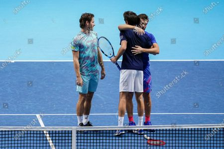 Editorial picture of Nitto ATP Finals 2020, Day Eight, Tennis, The 02 Arena, London, UK - 22 Nov 2020
