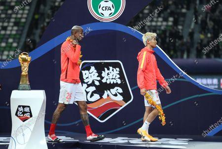 Editorial photo of China Suzhou Football Csl Guangzhou vs Jiangsu - 12 Nov 2020