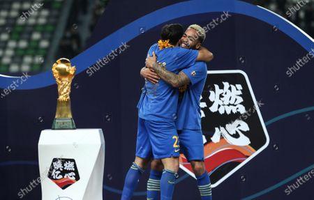 Editorial image of China Suzhou Football Csl Guangzhou vs Jiangsu - 12 Nov 2020
