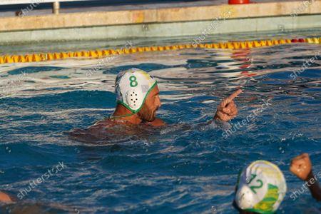 Valentino Gallo (C.C. Ortigia) during CC Ortigia vs VK Jadran Split, Waterpolo LEN Cup - Champions League Men match
