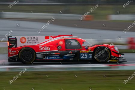 2017 FIA World Endurance Championship, Fuji, Japan. 13th-15th October 2017, #25 CEFC Manor TRS Team China ORECA 07-Gibson: Roberto Gonzalez, Simon Trummer, Vitaly Petrov  World copyright. JEP/LAT Images