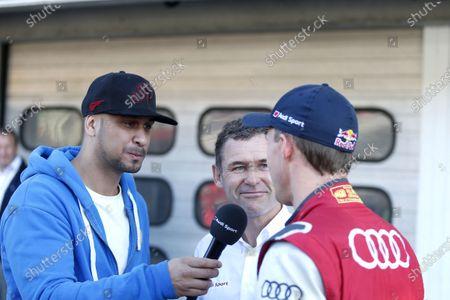 2017 DTM Round 9  Hockenheimring, Germany  Saturday 14 October 2017. JP Krämer, Tuning specialist with Tom Kristensen and Mattias Ekström, Audi Sport Team Abt Sportsline, Audi A5 DTM  World Copyright: Alexander Trienitz/LAT Images