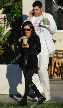 Kourtney Kardashian and Fai Khadra