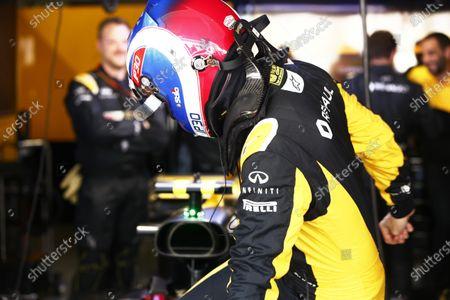 Suzuka Circuit, Japan. Sunday 08 October 2017. Jolyon Palmer, Renault Sport F1. World Copyright: Andy Hone/LAT Images