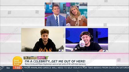 Editorial picture of 'Good Morning Britain' TV Show, London, UK - 13 Nov 2020