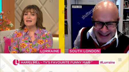 Lorraine Kelly and Harry Hill