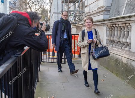 Dido Harding Head of NHS Test and Trace arrives at Downing Street as Dominic Cummings, Boris Johnson's top adviser, announced this morning that he will quit by Christmas. Yesterday Lee Cain, No10's Director of Communications dramatically quit as a political storm hits the Government.