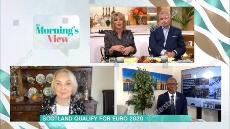 Ruth Langsford, Eamonn Holmes, India Willoughby and Darren Lewis