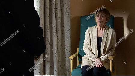 Coronation Street - Ep 10183 Wednesday 2nd December 2020 - 1st Ep Tim Metcalfe visits Elaine in hospital and apologises for ever disbelieving that she was his Mum Elaine, as played by Paula Wilcox. However when Tim asks her to give evidence at the trial, how will she react?