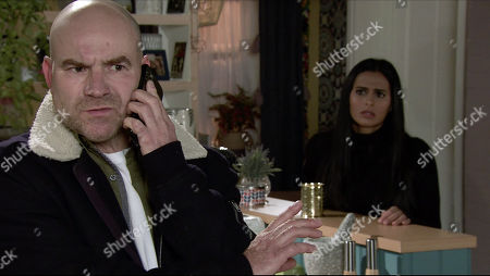 Coronation Street - Ep 10182 Monday 30th November 2020 - 2nd Ep When Tim Metcalfe, as played by Joe Duttine, takes a call from the police telling him that they've found Elaine but she's been admitted to a psychiatric hospital, Alya Nazir, as played by Sair Khan, realises her Gran's defence is well and truly scuppered.