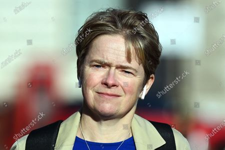 Dido Harding, Head of the NHS Test and Trace programme in London, Britain, 13 November 2020.  According to news reports Britain's health bosses say that the new lockdown measures indicate that the national test and trace programme 'is not working'.