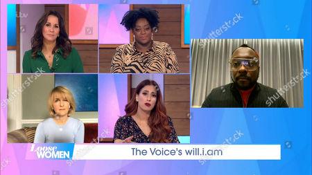 Editorial photo of 'Loose Women' TV Show, London, UK - 13 Nov 2020
