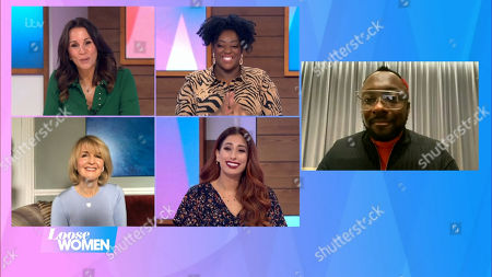 Andrea McLean, Judi Love, Kaye Adams, Stacey Solomon and Will I Am