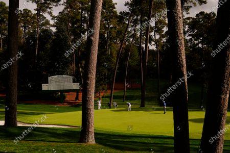 Editorial photo of Masters Golf, Augusta, United States - 13 Nov 2020