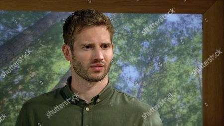 Emmerdale - Ep 8889 Monday 16th November 2020 Jamie Tate, as played by Alexander Lincoln, is shocked when Dawn Taylor offers to sleep with him if it means he'll keep quiet.