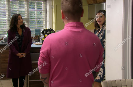 Emmerdale - Ep 8904 Thursday 3rd December 2020 - 1st Ep When Meena, as played by Paige Sandhu, spends the afternoon with David Metcalfe, as played by Matthew Wolfenden. Manpreet Sharma, as played by Rebecca Sarker, tears into Meena.
