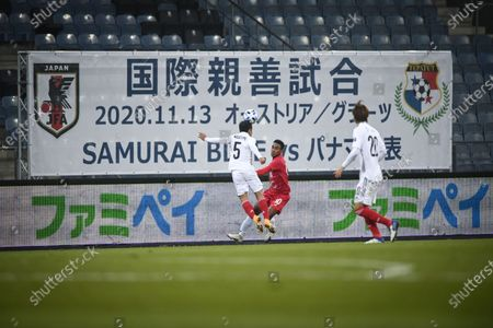 Editorial photo of Japan vs Panama, Graz, Austria - 13 Nov 2020