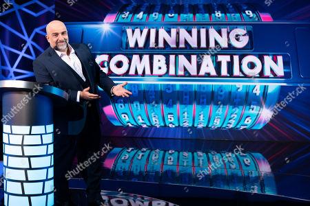 Winning Combination Host Omid Djalili.