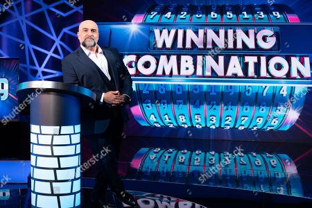Stock Image of Winning Combination Host Omid Djalili.