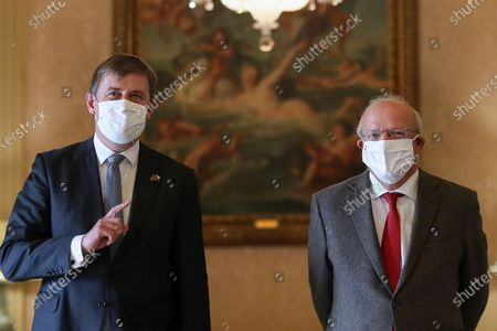 Editorial photo of Diplomacy: Foreign ministers joint press conference, Lisboa, Portugal - 13 Nov 2020
