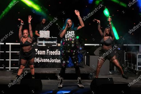Stock Photo of Big Freedia performs onstage during the Long Live Music event on the lawn at the Long Center