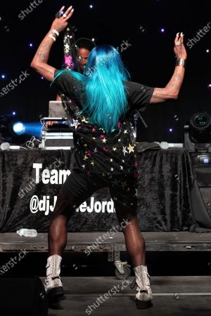 Big Freedia performs onstage during the Long Live Music event on the lawn at the Long Center