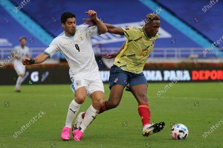 Editorial image of Uruguay WCup Soccer, Barranquilla, Colombia - 13 Nov 2020