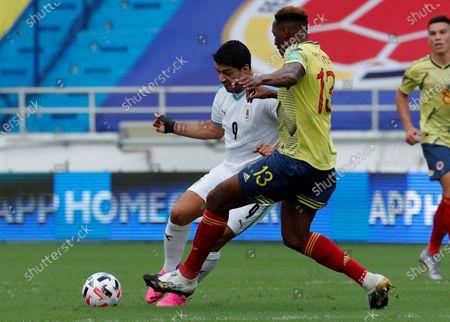 Editorial photo of Colombia vs. Uruguay, Barranquilla - 13 Nov 2020