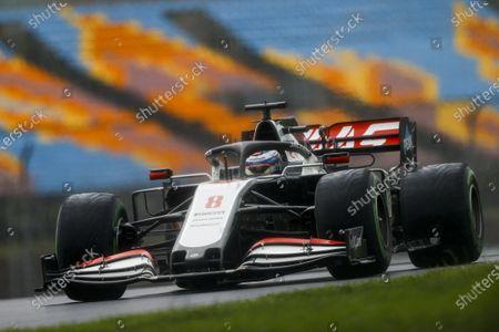 Romain Grosjean, Haas VF-20 during the 2020 Formula One Turkish Grand Prix
